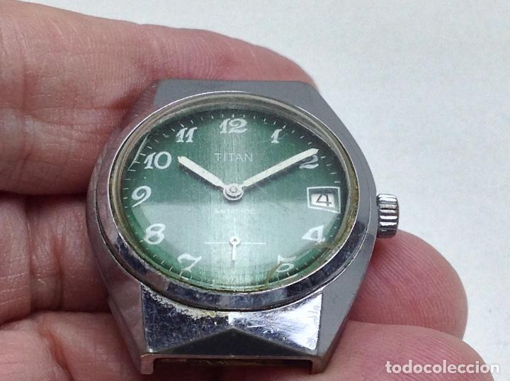 Recambios de relojes: RELOJ SIN LA PULSERA - TITAN - NO FUNCIONA - Foto 2 - 147156866