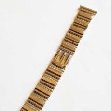 Ricambi di orologi: CORREA METALICA 16 MM / 20 MM VINTAGE, NUEVA. Lote 277682548