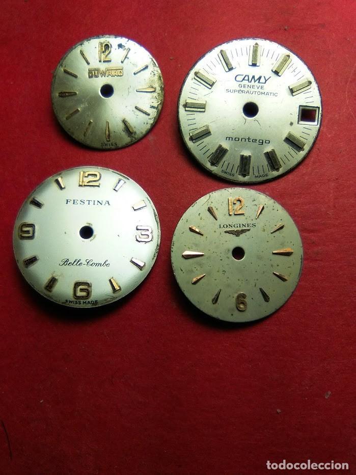 ESFERAS SRA. VINTAGE - 4 - DIFERENTES MARCAS (Relojes - Recambios)