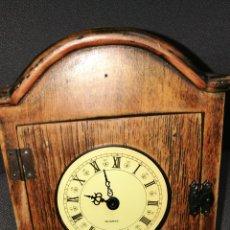 Recambios de relojes: CAJA DE RELOJ MADERA. Lote 148220117
