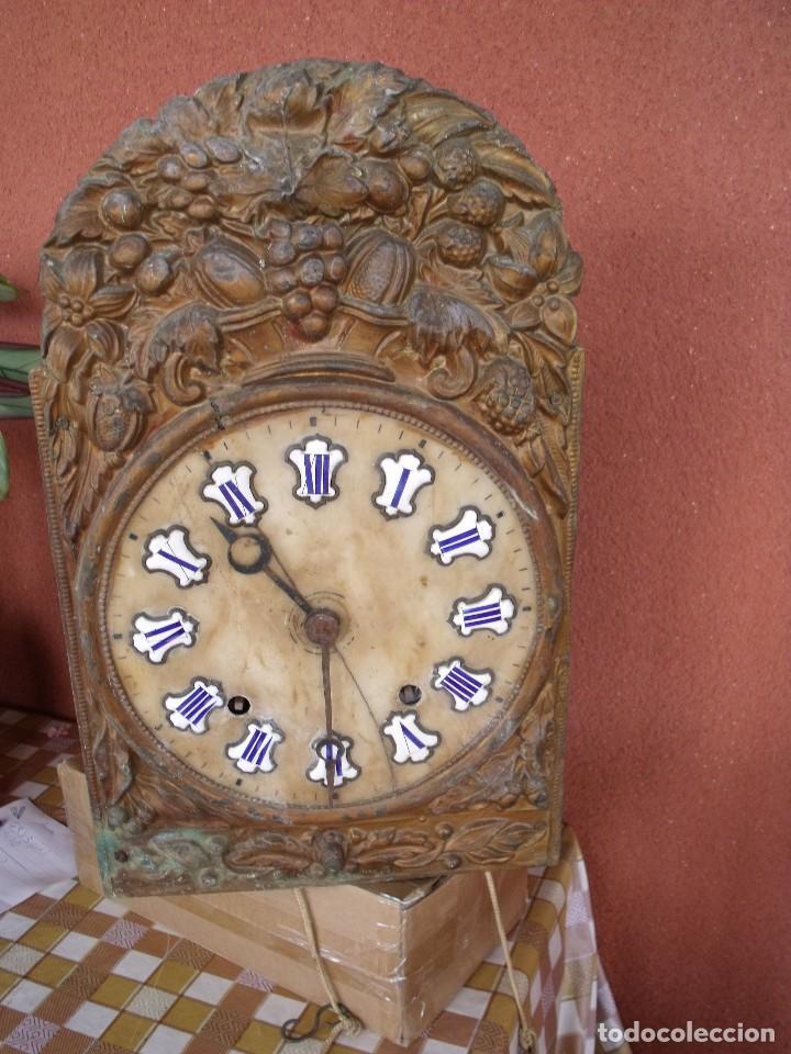 ¡¡GRAN OFERTA !! ANTIGUA MAQUINARIA MOREZ -AÑO 1880-REPITE HORAS- PARA RESTAURAR O PIEZAS-LOTE 2 (Relojes - Recambios)