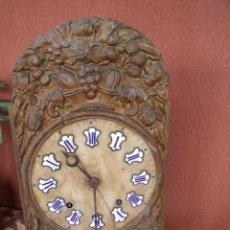 Recambios de relojes: ¡¡GRAN OFERTA !! ANTIGUA MAQUINARIA MOREZ -AÑO 1880-REPITE HORAS- PARA RESTAURAR O PIEZAS-LOTE 2. Lote 148400566