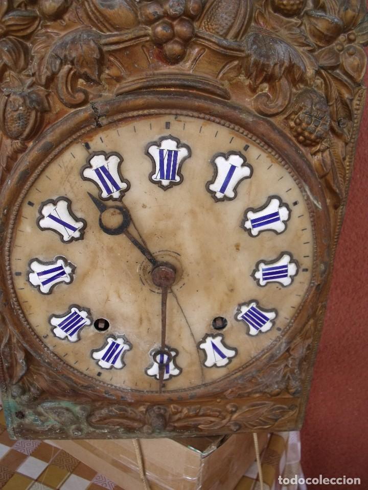 Recambios de relojes: ¡¡GRAN OFERTA !! Antigua MAQUINARIA MOREZ -año 1880-REPITE HORAS- para restaurar o piezas-lote 2 - Foto 2 - 148400566