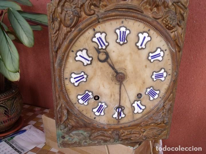 Recambios de relojes: ¡¡GRAN OFERTA !! Antigua MAQUINARIA MOREZ -año 1880-REPITE HORAS- para restaurar o piezas-lote 2 - Foto 4 - 148400566