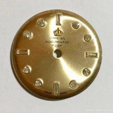 Recambios de relojes: ESFERA DE RELOJ MARCA : CIMEQA,ACROMATIC 25,SWISS MADE . 29,4 M/M.Ø. Lote 148436194