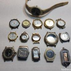 Recambios de relojes: LOTE RELOJES ORIENT,DUWARD,LOTUS ETC. Lote 148516720