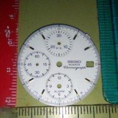 Recambios de relojes: SEIKO - ESFERA CRONO BLANCA. Lote 148774394