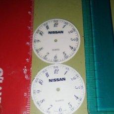 Recambios de relojes: ESFERAS ( 2 ) NISSAN. Lote 148775642