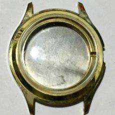 Recambios de relojes: CAJA VITAGE PLAQUÉ ORO. MEDIDAS: EXT. 33,7 M/M.Ø - INT. 23,2 M/M.Ø. Lote 148894158