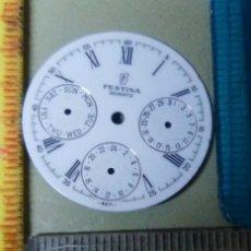 Recambios de relojes: ESFERA MULTIFUCIÓN FESTINA. Lote 149347618