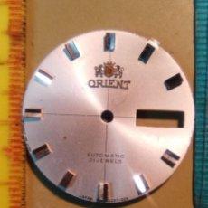 Recambios de relojes: ESFERA ORIENT ( ES BLANCA). Lote 149347774