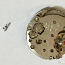 Recambios de relojes: PIEZAS DE UN MECANISMO A CUERDA ORIENT CAL. 49321. Lote 149987578