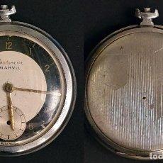 Recambios de relojes: RELOJ DE BOLSILLO MARVIL - PARA REPARAR O PIEZAS. Lote 150047322