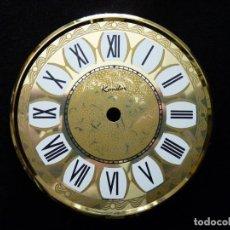 Recambios de relojes: ESFERA PARA RELOJ ANIVERSARIO 400 DÍAS PÉNDULO DE TORSIÓN, MARCA CONDOR . Lote 150746114