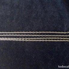Recambios de relojes: CADENA PARA RELOJ DE CARRILLÓN. PARED PIE PESAS. 146 CM.(3). Lote 150747366
