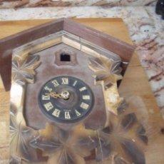 Recambios de relojes: ANTIGUO RELOJ CUCO PARA RESTAURAR O PIEZAS- LOTE 163. Lote 150813750