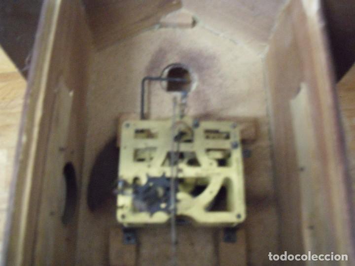 Recambios de relojes: antiguo reloj cuco para restaurar o piezas- lote 163 - Foto 5 - 150813750