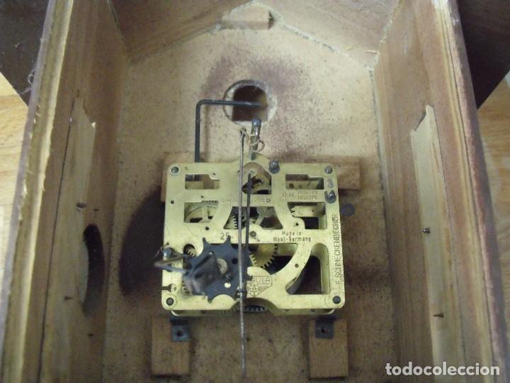 Recambios de relojes: antiguo reloj cuco para restaurar o piezas- lote 163 - Foto 6 - 150813750