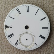 Recambios de relojes: ESFERA DE RELOJ DE BOLSILLO EN PORCELANA. SIGLO XIX - XX.. Lote 151103945