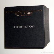 Recambios de relojes: CAJA BOX RELOJ HAMILTON EDICION ESPECIAL WEST POINT USA ACADEMIA MILITAR GARANTIA INSTRUCCIONES LUJO. Lote 151319418