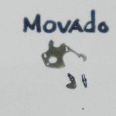 Recambios de relojes: MOVADO - 815 - PZA. Nº 445 - TIRETE Y TORNILLO. Lote 151551854