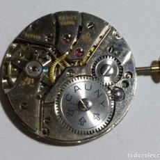 Recambios de relojes: MOVIMIENTO FIRMADO CAUNY PRIMA CAL. UNITAS ( UT ) 620 .. Lote 151886926