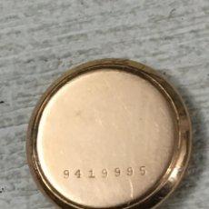 Recambios de relojes: TAPA TRASERA PARA RELOJ ZENITH GOLDFILLED L 40 MICRONS GDR. Lote 152035021