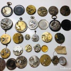 Recambios de relojes: LOTE ANTIGUA MAQUINARIA RELOJES ROSKOPF,SALAMI..... Lote 152042464