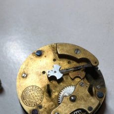 Recambios de relojes: RARA MAQUINARIA RELOJ OSCILLATOR 8 JOURS. Lote 152043458