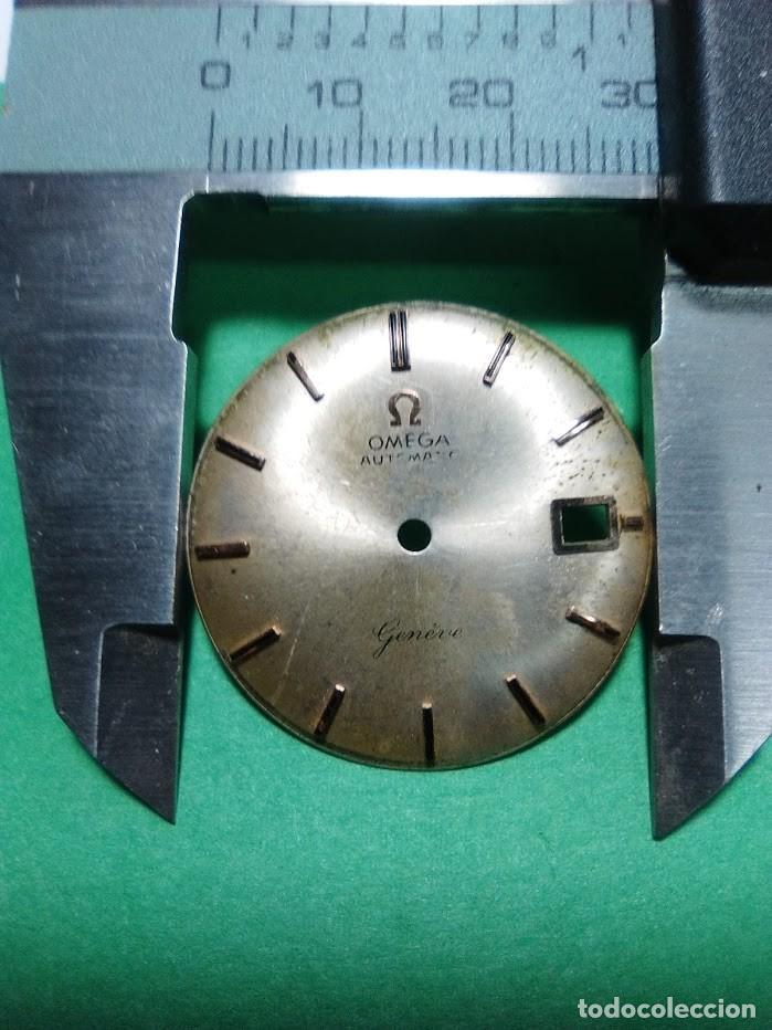 OMEGA - ESFERA PARA CALENDARIO BLANCA (Relojes - Recambios)