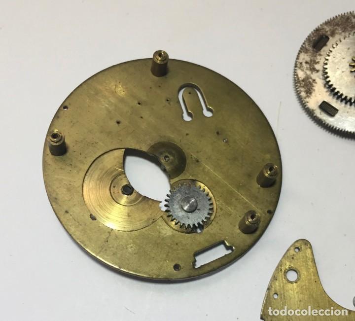 Recambios de relojes: piezas reloj bolsillo cal . ?? - Foto 2 - 152786122