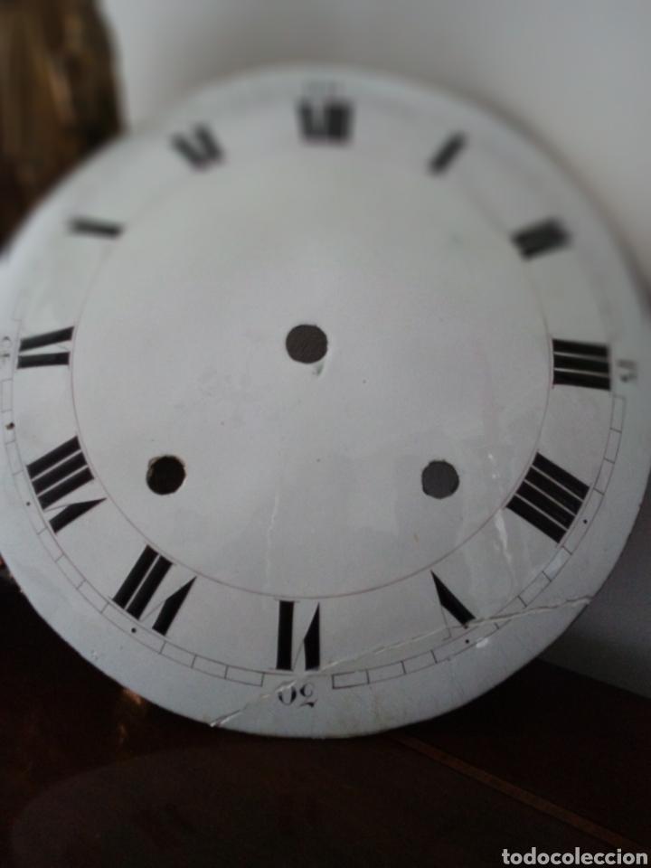 Recambios de relojes: Morez: muy antigua esfera de reloj de pesas - Foto 2 - 153444390