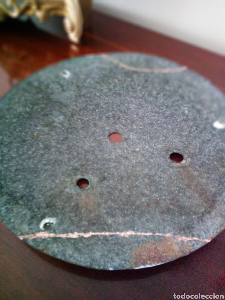 Recambios de relojes: Morez: muy antigua esfera de reloj de pesas - Foto 3 - 153444390