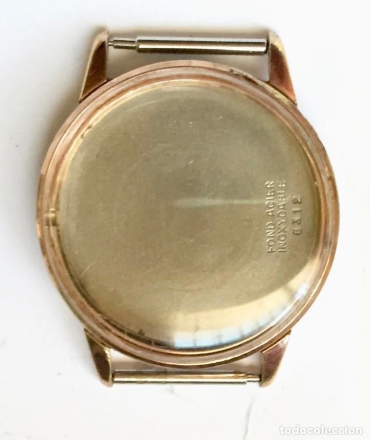 Recambios de relojes: CAJA PLAQUÉ ORO FIRMADA TECHNOS . MEDIDAS : EXT. 33,7 M/M.Ø - INT. 29,3 M/M.Ø - Foto 2 - 153527510