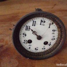 Recambios de relojes: ANTIGUA MAQUINARIA PARIS PARA RESTAURAR O PIEZAS LOTE 164. Lote 154776610