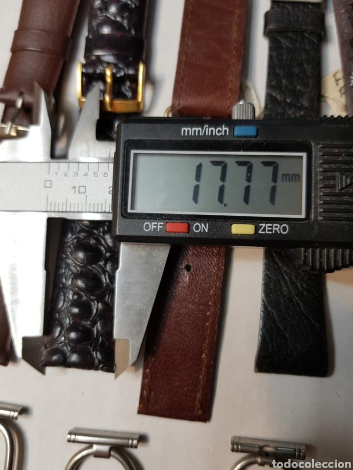 Recambios de relojes: Correas Reloj lote 39 metálicas, piel y Sintético - Foto 8 - 155280565