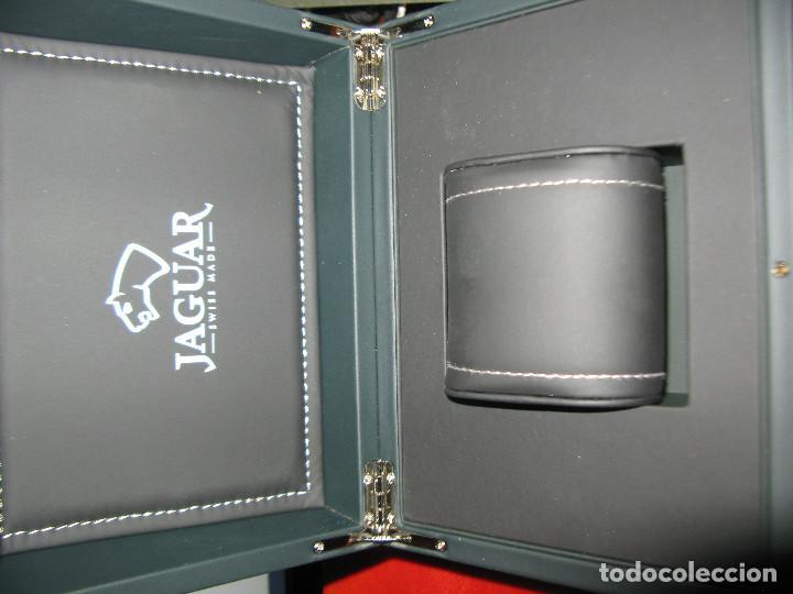 Recambios de relojes: gran caja vacia reloj jaguar - Foto 2 - 155780242