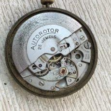 Recambios de relojes: MAQUINARIA AUTOROTOR 25 J PUW 1260 FUNCIONA. Lote 155889909