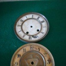 Recambios de relojes: ESFERAS DE RELOJ. Lote 156832689