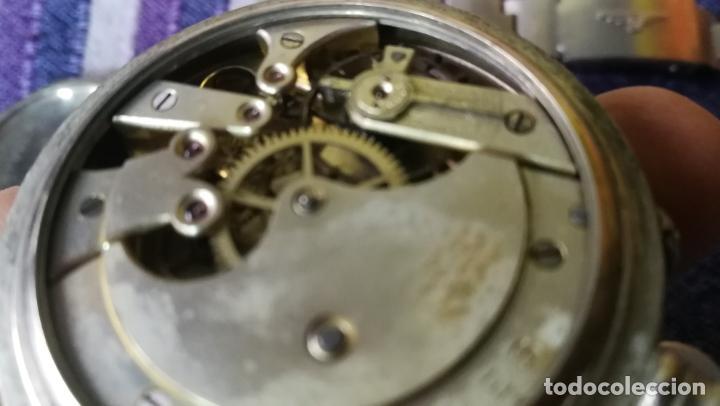 Recambios de relojes: LOTE LONGINES, 1 reloj, 2 esferas, 2 tapas con cuerda creo y armis o correa de caballero todo - Foto 24 - 157736442
