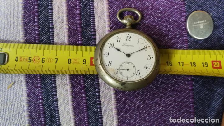 Recambios de relojes: LOTE LONGINES, 1 reloj, 2 esferas, 2 tapas con cuerda creo y armis o correa de caballero todo - Foto 39 - 157736442