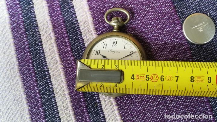 Recambios de relojes: LOTE LONGINES, 1 reloj, 2 esferas, 2 tapas con cuerda creo y armis o correa de caballero todo - Foto 40 - 157736442