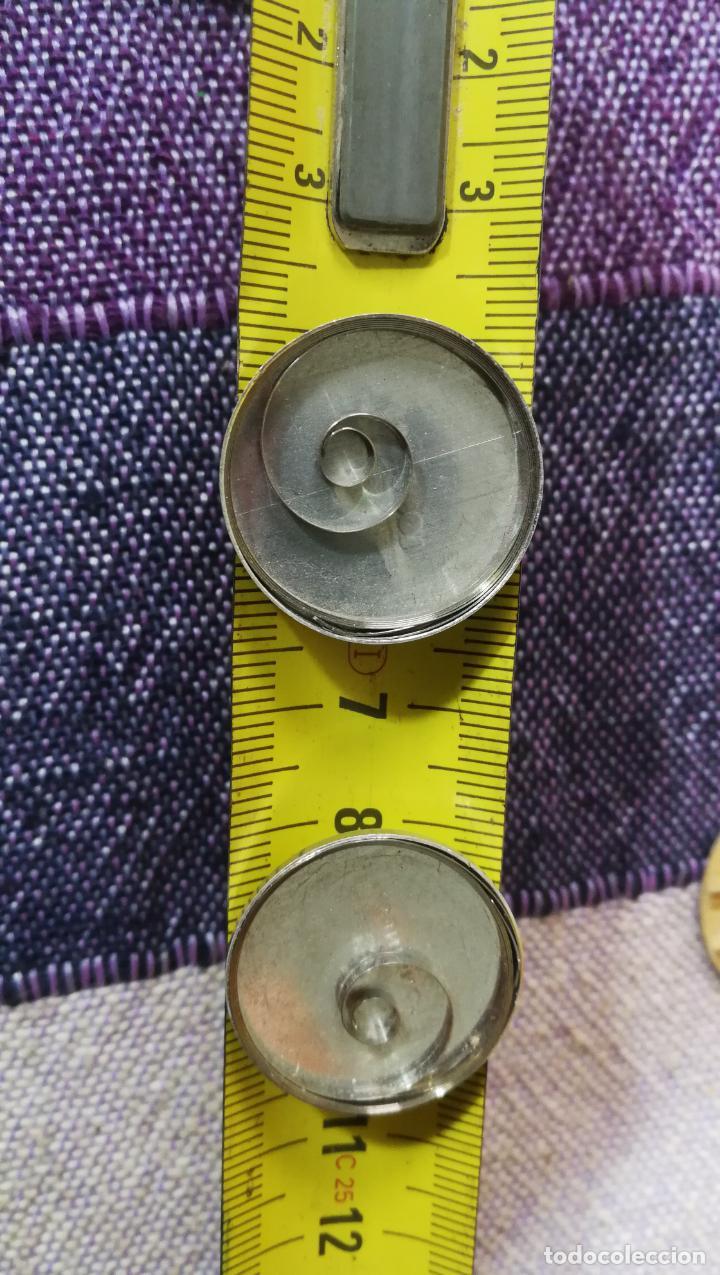 Recambios de relojes: LOTE LONGINES, 1 reloj, 2 esferas, 2 tapas con cuerda creo y armis o correa de caballero todo - Foto 46 - 157736442