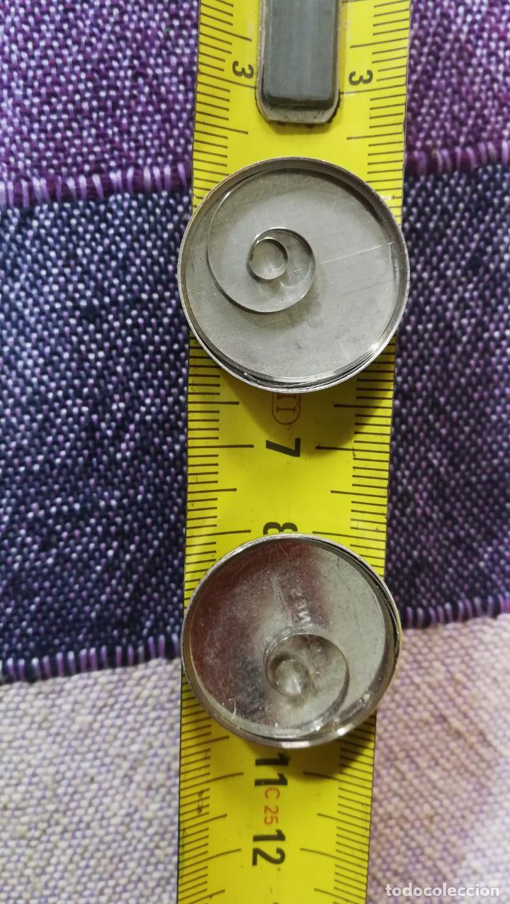 Recambios de relojes: LOTE LONGINES, 1 reloj, 2 esferas, 2 tapas con cuerda creo y armis o correa de caballero todo - Foto 48 - 157736442