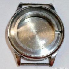 Recambios de relojes: CAJA DE ACERO DE UN RELOJ RODANIA EXT.359 Ø , INTERIOR 231 Ø ( VER LAS FOTOS ). Lote 126354375
