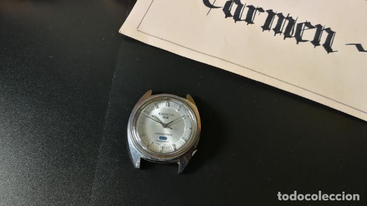 Recambios de relojes: RELOJ CITIZEN COSMOTRON, para reparar o para piezas, miren las fotos - Foto 2 - 157988902