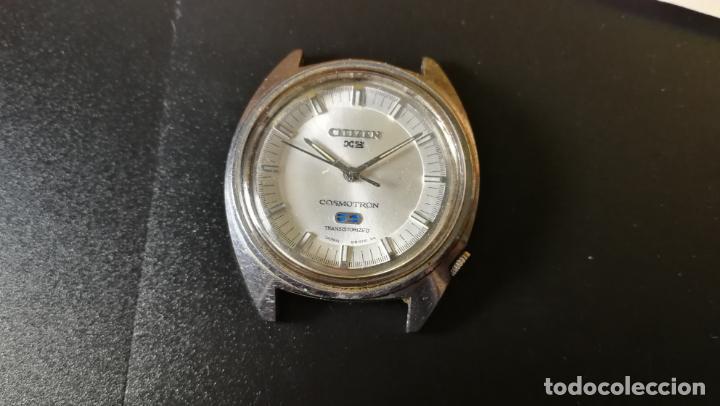 Recambios de relojes: RELOJ CITIZEN COSMOTRON, para reparar o para piezas, miren las fotos - Foto 3 - 157988902