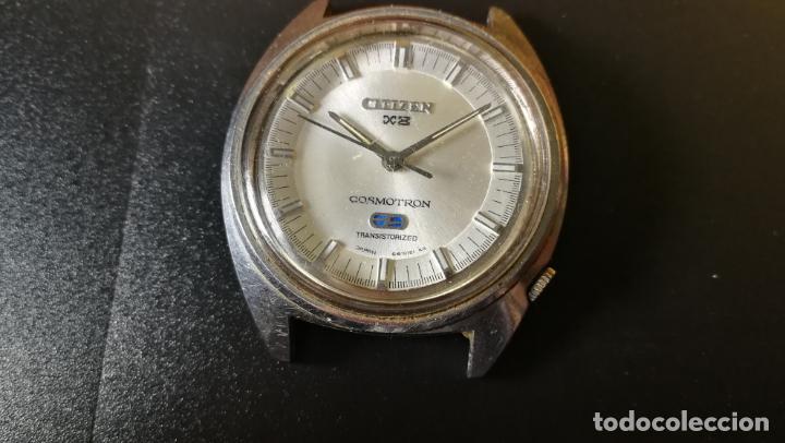 Recambios de relojes: RELOJ CITIZEN COSMOTRON, para reparar o para piezas, miren las fotos - Foto 4 - 157988902