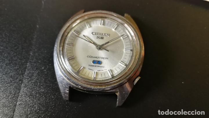 Recambios de relojes: RELOJ CITIZEN COSMOTRON, para reparar o para piezas, miren las fotos - Foto 5 - 157988902