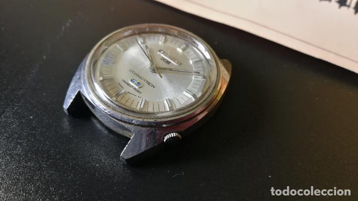 Recambios de relojes: RELOJ CITIZEN COSMOTRON, para reparar o para piezas, miren las fotos - Foto 6 - 157988902